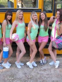 Highschool Orgie Gif